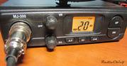 гражданская радиостанция для города и трассы  megajet MJ-300